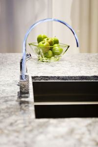 Granite benchtops undermount sink